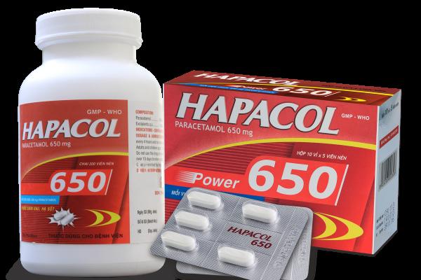 Liều dùng và cách dùng của thuốc giảm đau hạ sốt Hapacol 650 như thế nào?