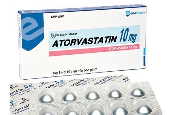 Những lưu ý trong sử dụng thuốc Atorvastatin 10mg