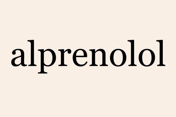 Tác dụng của Alprenolol là gì? Những lưu ý trong quá trình sử dụng thuốc?